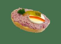 Chlebíček s hanáckým salátem